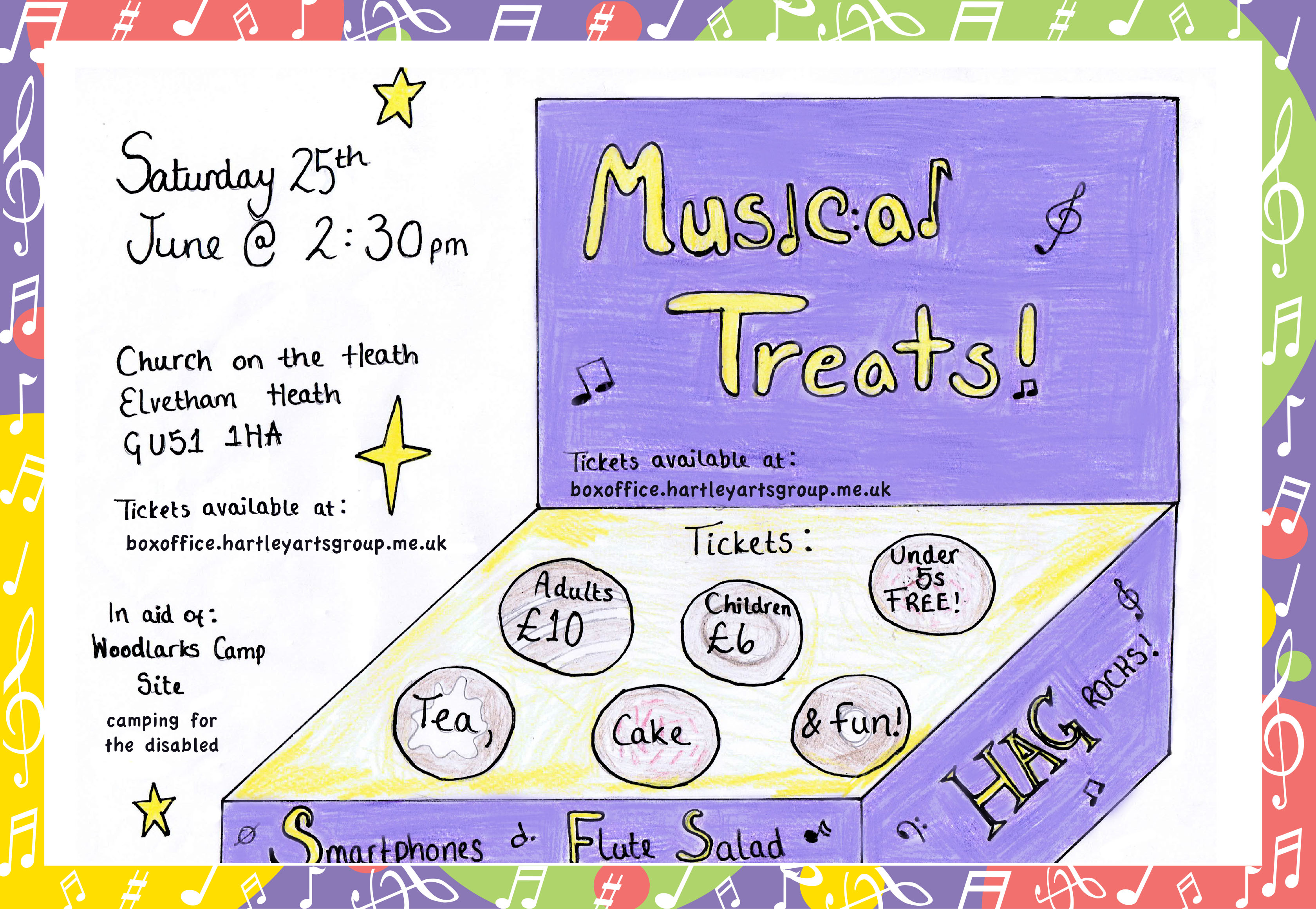 Musical Treats flyer